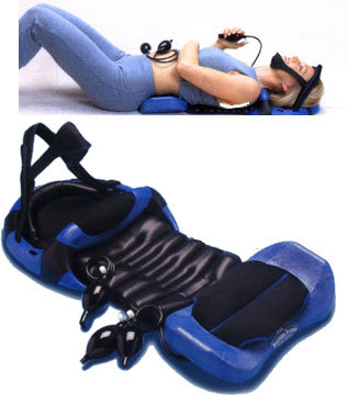 Deluxe Full Spine Posture Pump® Blue