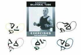 Exerband Clinic 6' Bilat Tubes w/Book Set/5