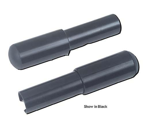 Seat Rail Extension Only Black ( pair)