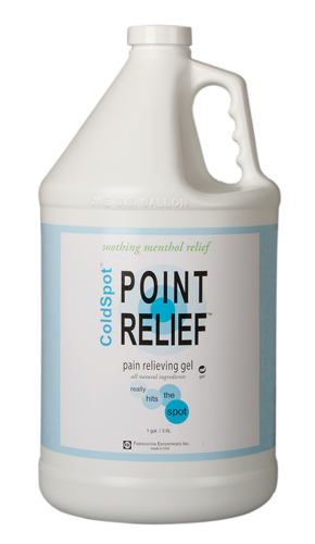 Point Relief® ColdSpot® Pain Relief Gel 128oz (1gal) Pump