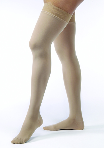 Jobst Opaque Thigh-Hi 15-20 Black Medium