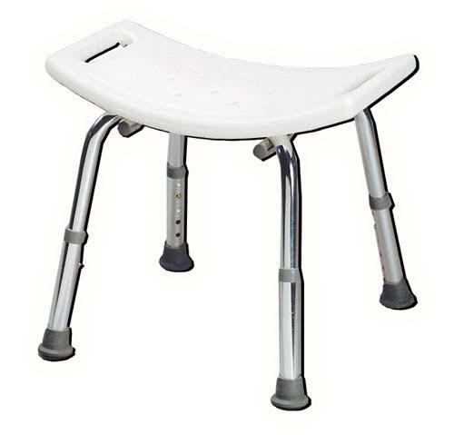 Shower Safety Bench - W/O Back - Retail-KD