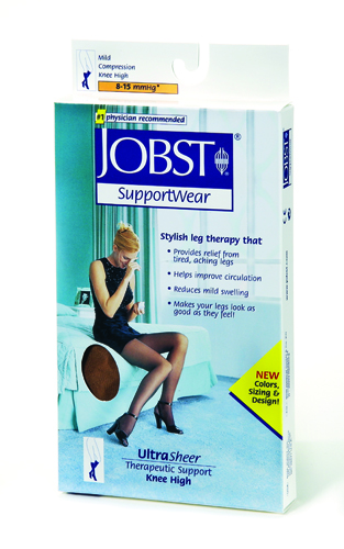Jobst U/S 8-15 Thigh-Hi Black Small