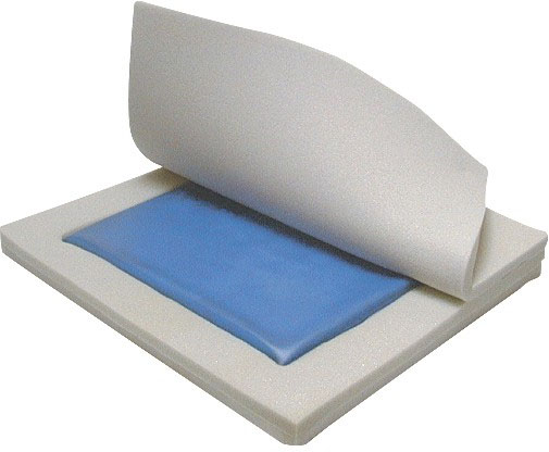 Molded Wheelchair Cushion General Use 18 x 16 x 2