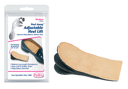Adjust-A-Heel Lift Medium Womens size 8-10 / Mens 6-8