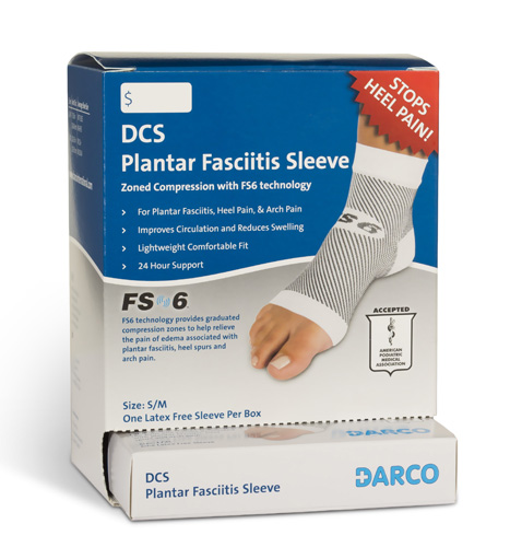 DCS Plantar Fasciitis Sleeve Small/Medium Display (6 ea)