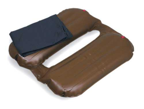 Plastic Twin Rest Seat Cushion 16 x 17 w/Cover