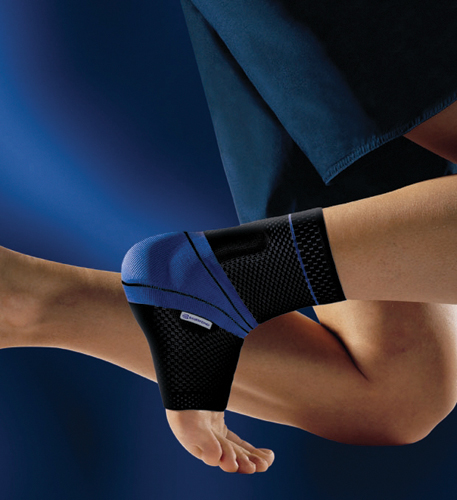 MalleoTrain Ankle Support Sz 6 Left 10-5/8 to 11-3/8 Blk