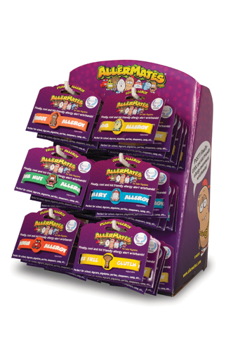 AllerMates Wristband Countertop Display ( 24 pc )