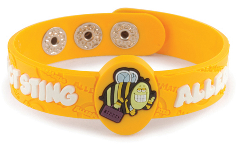 AllerMates Wrist Band Bizzzy Insect Sting Allergy