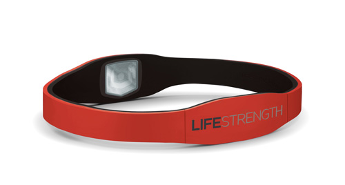 LifeStrength Armband Small Red / Black 7-1/8