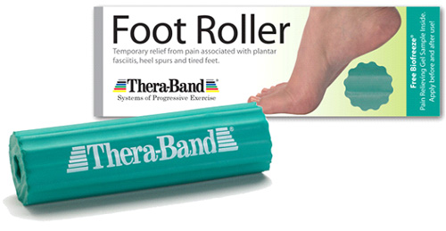 TheraBand Foot Roller Green 1½ Diameter w/½ Center Each