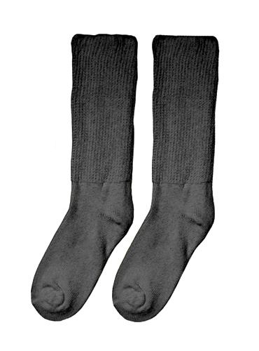 Diabetic Socks - Medium/Large (8-10) (pair) Black