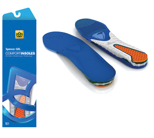 Gel Insoles Men-Youth W 3.5-4
