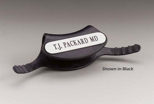 Stethoscope Identification Tags - Black Bx/5
