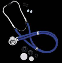 Sprague Rappaport Stethoscope Black Omron