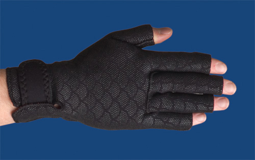 Thermoskin Arthritic Gloves Large 9.25 -10.25 Black (pr)