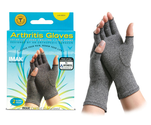 IMAK Arthritis Gloves-Large/pr