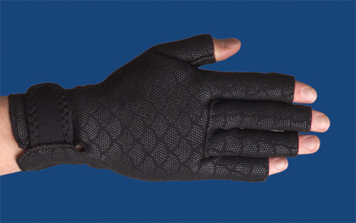 Thermoskin Arthritic Gloves X-Small 6 - 6 ¾ Black
