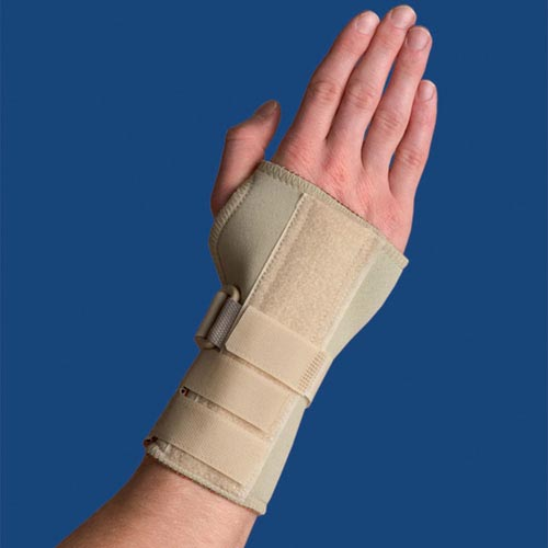 Thermoskin Carpal Tunnel Brace With Dorsal Stay X-Lge Left