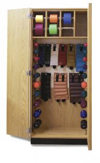 Thera-Wall Therapy Storage Cabinet 32 W x 19½ D x 78 H