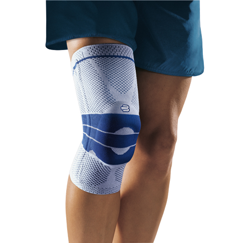 GenuTrain Active Knee Support Size 3 Titanium Gray