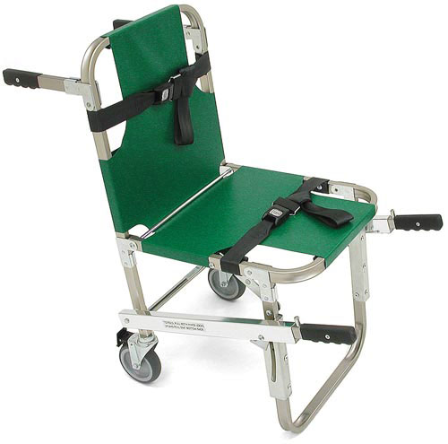 Evacuation Chair w/4 Wheels & Handles