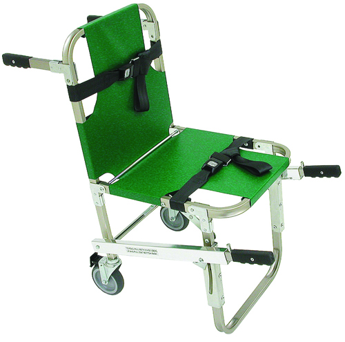 Evacuation Chair w/5 Wheels and Front & Back Handles