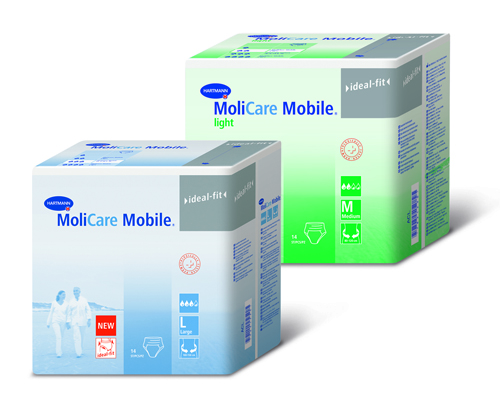 MoliCare Mobile Light Medium Underwear Cs/56(4x14) 31½ -47