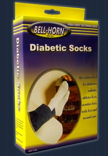 Diabetic Socks Seamfree Large White