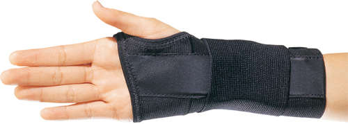 Elastic Stabilizing Wrist Brace Left Medium 6½ -7½