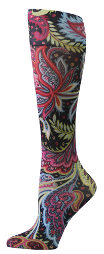 Celeste Stein Comp.Socks (pr) Abstract Purple Unica 15-20mmH