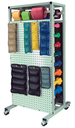 Combo. Dumbell And Weight Storage Rack