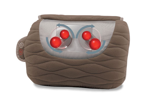 Ultra Plush Shiatsu Massage Pillow Homedics