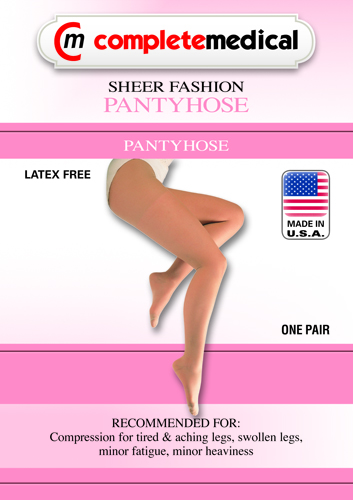 Ladeis' Sheer Mod Maternity 15-20mmHg Panty Hose Queen