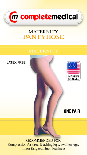 Firm Surg Wgt Maternity Panty Hose 20-30mmHg Petite CT