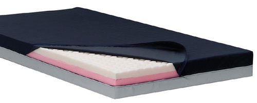 Relief-Care Pro Dual-Zone Foam Mattress w/SMT 36 x76 x 5.5