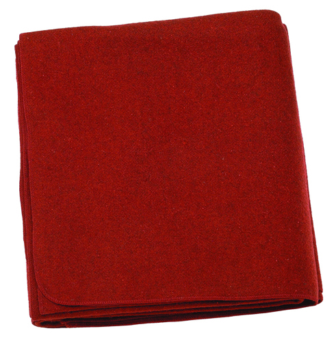 Fire Blanket only 62 x 82 Fire Resistnt Treated 100%Wool