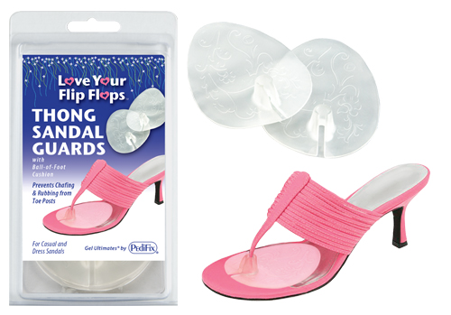Visco-GEL Thong Sandal Guards w/Ball of Foot Cushion Univ.